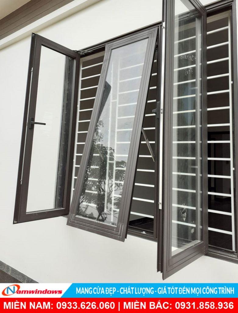 Khung bảo vệ cửa sổ nhôm kính