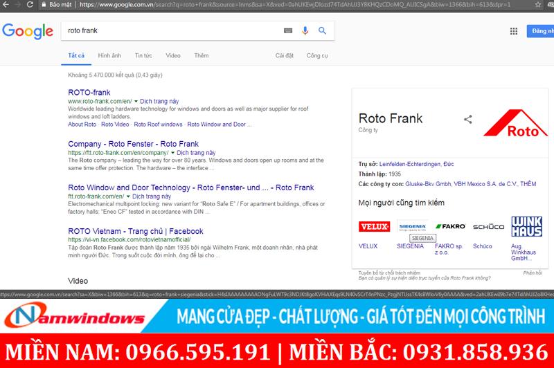 Tìm hiểu các hãng sản xuất qua google để biết chất lượng nguồn gốc xuất xứ
