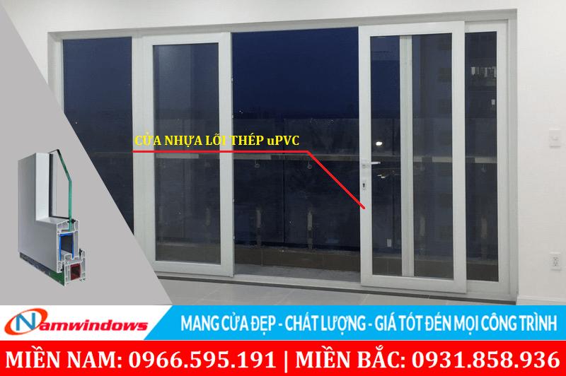 Cửa nhựa lõi thép uPVC là gì