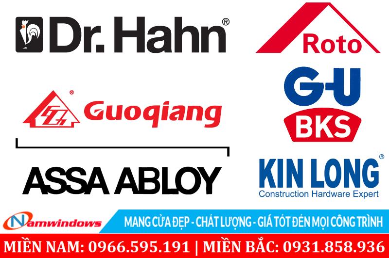Hình anh logo một số hãng sản xuất bản lề 3D