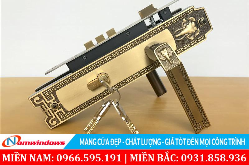 Loại khóa đơn điểm thường sử dụng ở cửa gỗ