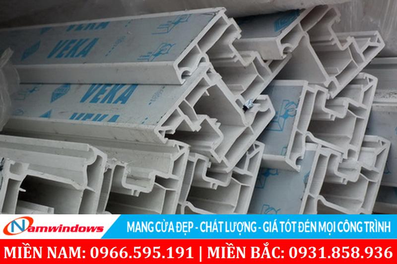 Thanh nhựa uPVC Veka