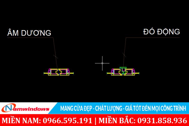 Sự khác nhau giữa các phương pháp sản xuất cửa 4 cánh uPVC