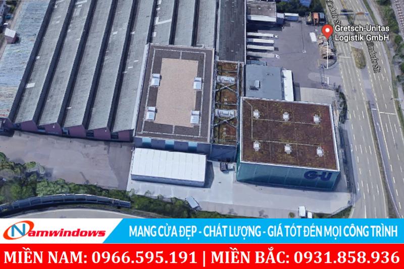 Hình ảnh một nhà máy phụ kiện GU tại Đức