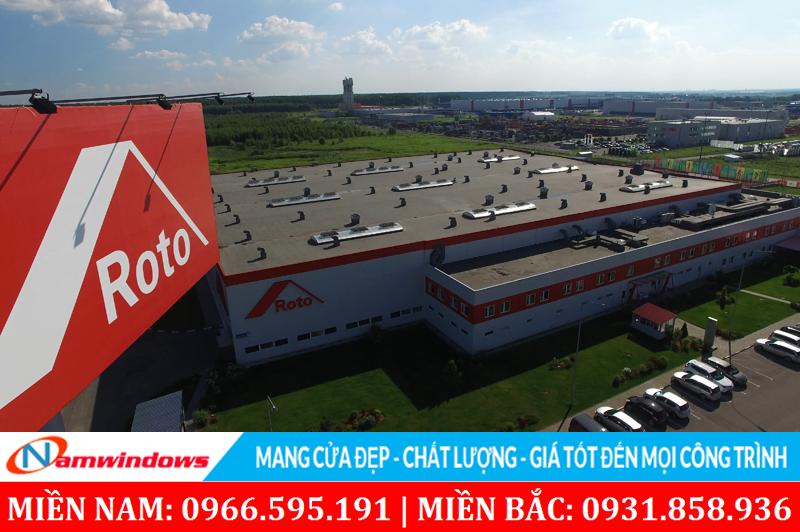 Một nhà máy sản xuất phụ kiện Roto