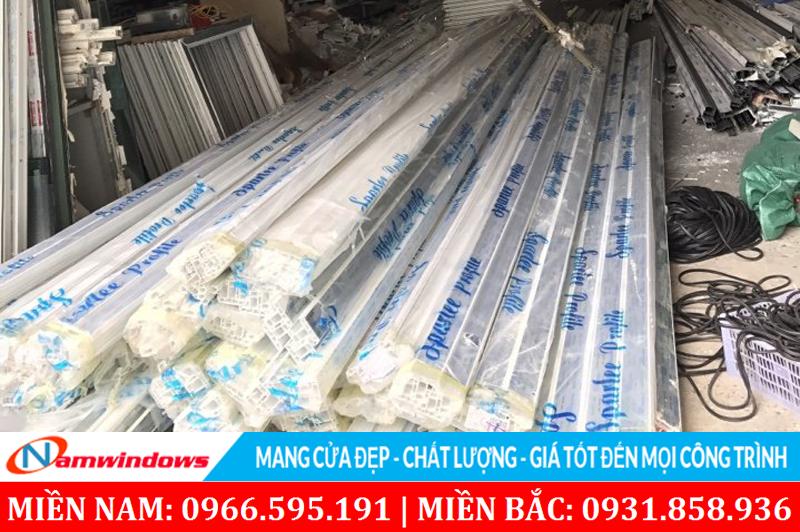 Hình ảnh nhà máy sản xuất cửa tại Thanh Trì, Hà Nội