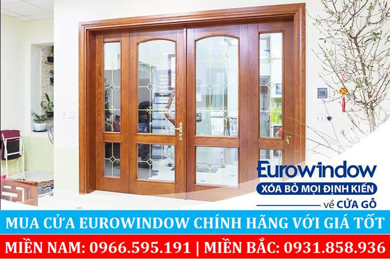 Cửa gỗ Eurowindow