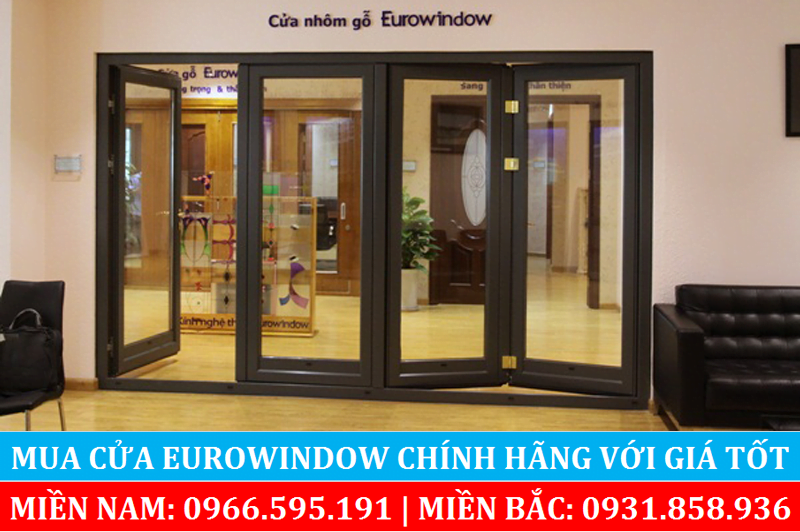 Cửa nhôm gỗ Eurowindow