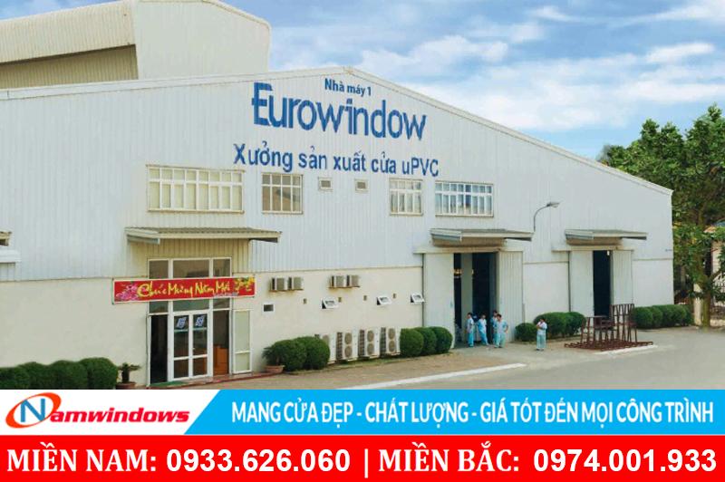 Nhà máy sản xuất cửa Eurowindow