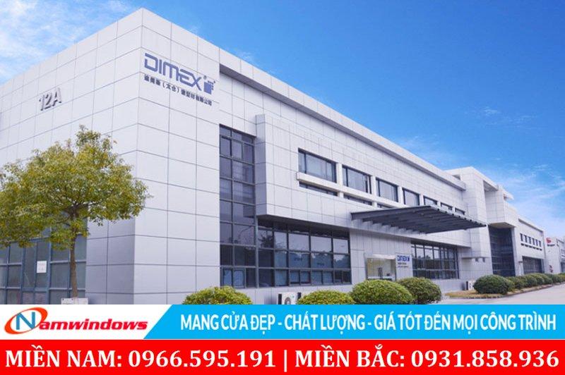 Công ty sản xuất thanh nhựa cao cấp chính hãng Dimex