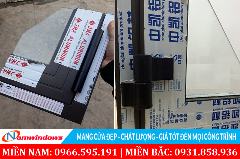 Những hãng nhôm định hình khác tại Trung Quốc có thanh nhôm kết cấu giống Xingfa