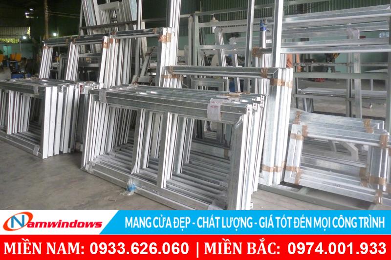 Dịch vụ gia công sản xuất cửa nhựa lõi thép