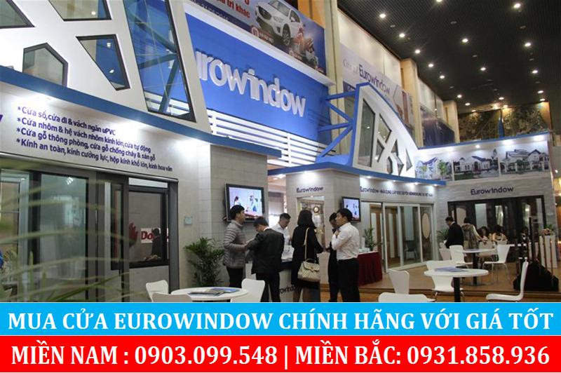 Hệ thống showroom cửa hàng Eurowindow tại Hà Nội