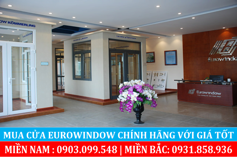 Hình ảnh một showroom Eurowindow