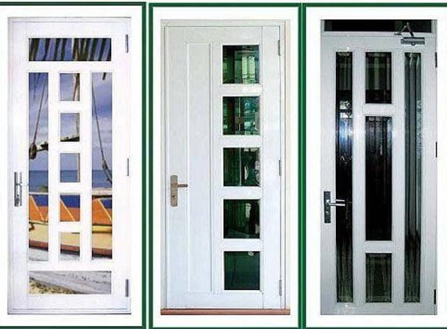 Hình ảnh về mẫu cửa nhôm 1 cánh sử dụng hệ nhôm 700 và 1000