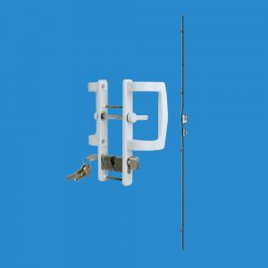 bộ khóa đa điểm chữ P cho cửa đi mở trượt hãng GQ