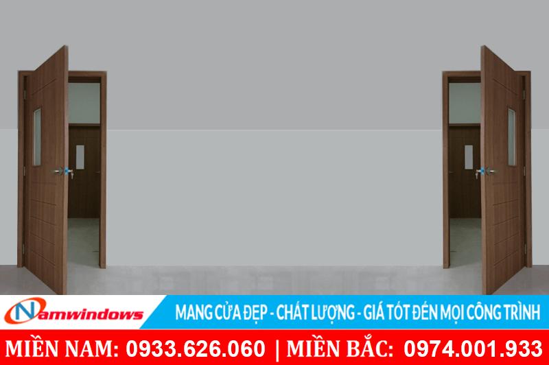 Hình ảnh một mẫu cửa nhựa ABS làm cho cửa phòng và cửa vệ sinh