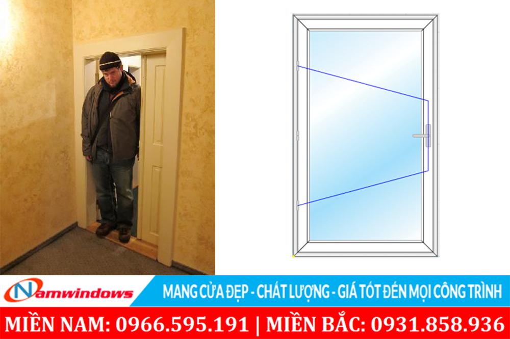 Chọn kích thước cửa không hợp lý
