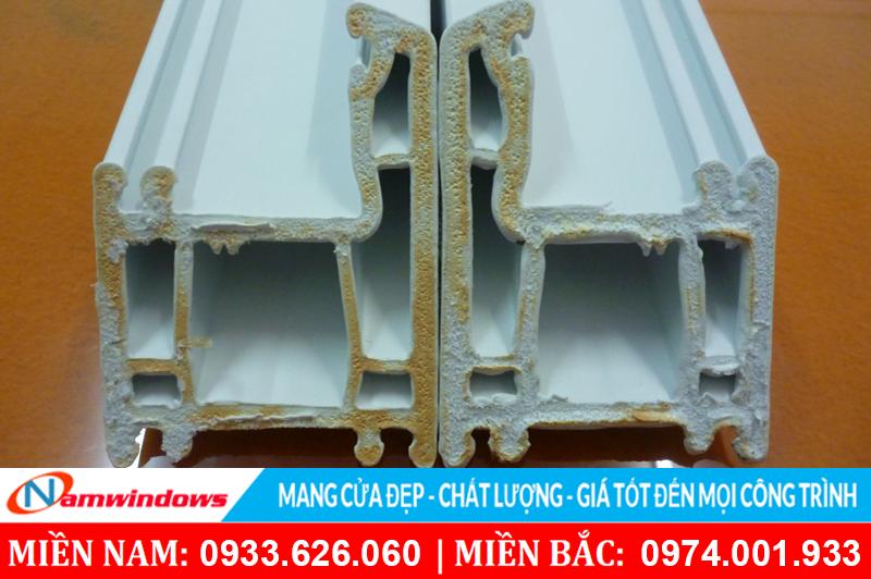 Cửa nhựa lõi thép sẽ không tốt và có độ bền thấp khi dùng vật liệu kém chất lượng
