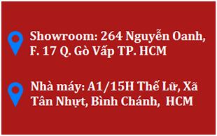 Địa chỉ showroom và cửa hàng cửa nhựa lõi thép Namwindows
