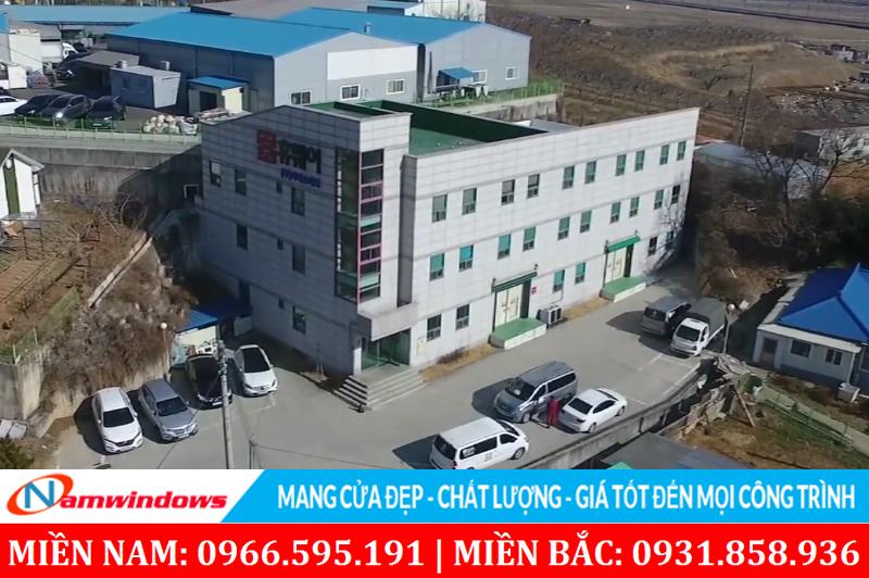 Hình ảnh nhà máy và trụ sở của công ty CS Tech tại Hàn Quốc
