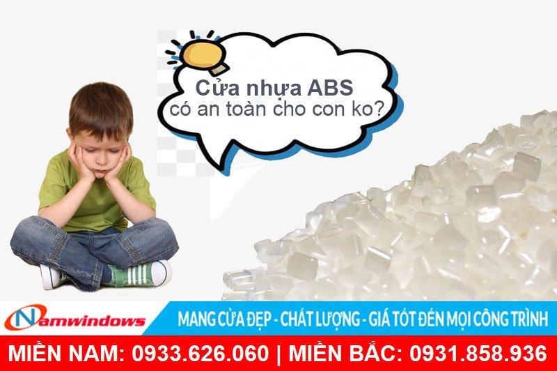 Cửa nhựa ABS có an toàn không