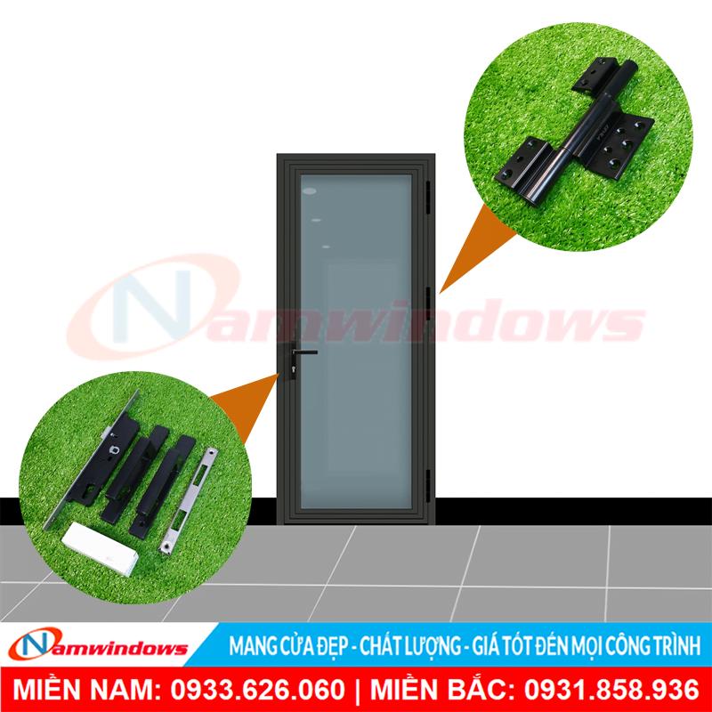 Hình mẫu cửa nhôm Xingfa 1 cánh thanh lý