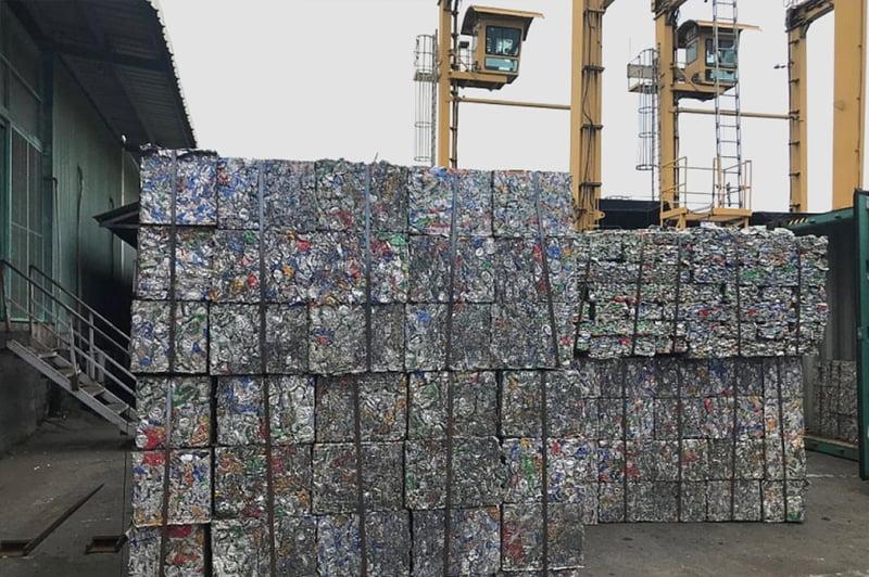 Phân loại để tái chế phế liệu nhôm