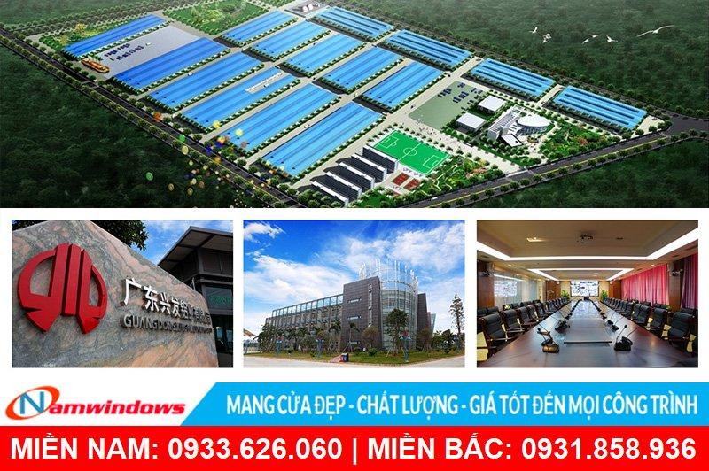 Công ty TNHH Nhôm XIngfa Quảng Đông (Trung Quốc)