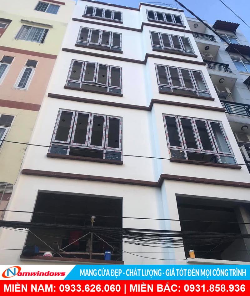 Công trình cửa nhôm xingfa Namwiwndows thi công