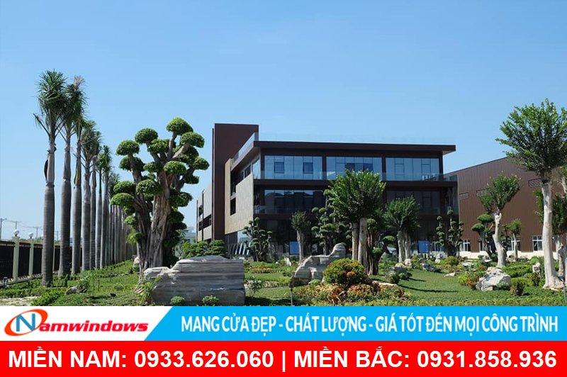 Công ty tnhh nhôm Vĩnh Hưng sản xuất nhôm Yongxing tại KCN Long GiangViệt Nam