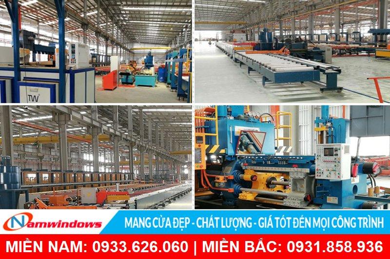 Nhà máy sản xuất - Cơ sở vật chất công ty TNHH Nhôm Vĩnh Hưng