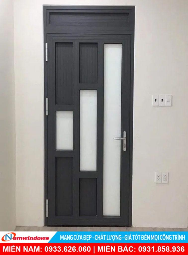 Mẫu cửa nhôm pano độc lạ