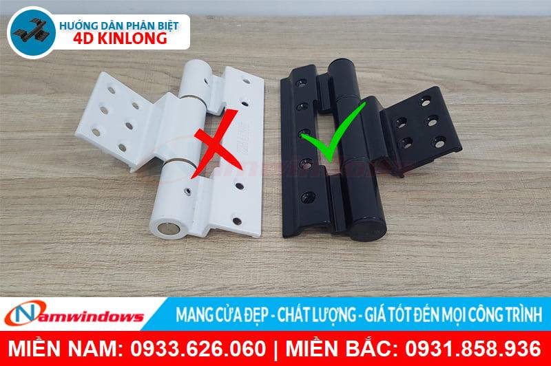 Phân biệt 4D kinlong chính hãng