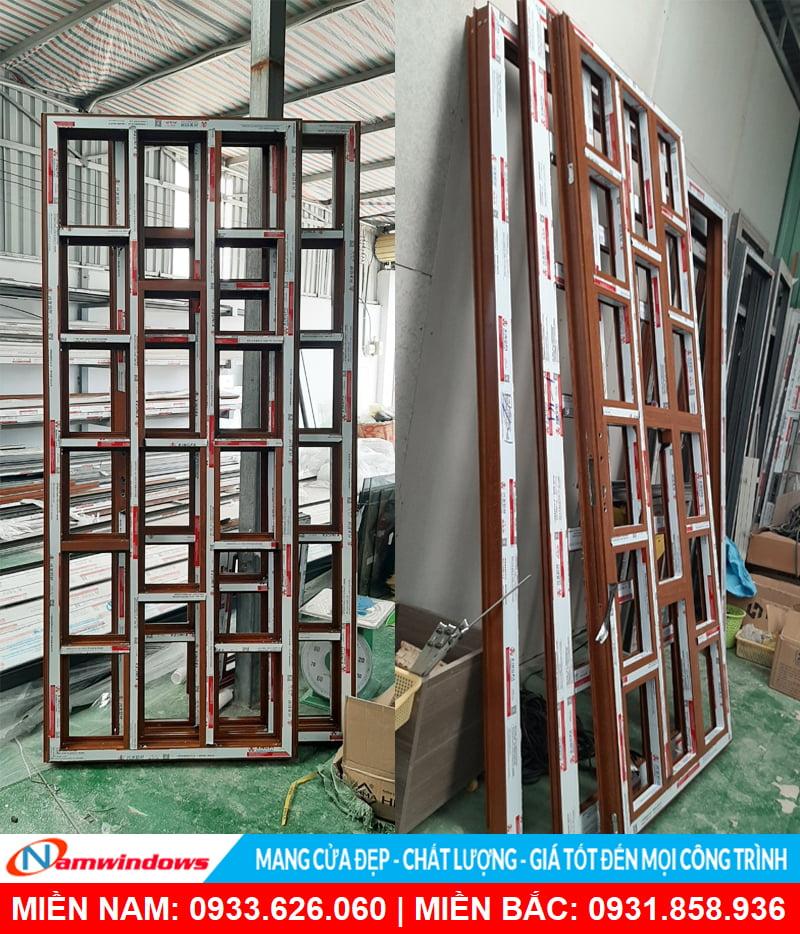 Namwindows - Địa chỉ sản xuất cửa nhôm xingfa vân gỗ chất lượng tại TP.HCM