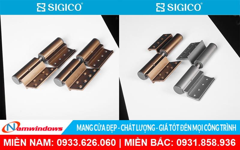 Bản lề cửa nhôm xingfa hãng Sigico