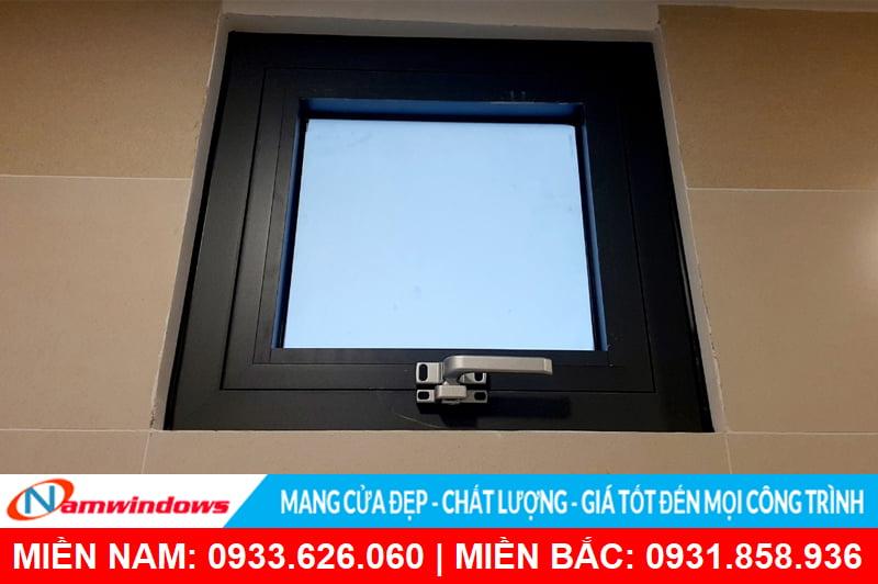 Cửa sổ mở hất nhôm cầu cách nhiệt HMA