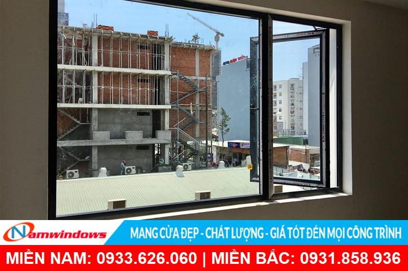 Cửa sổ 1 cánh mở quay nhôm xingfa