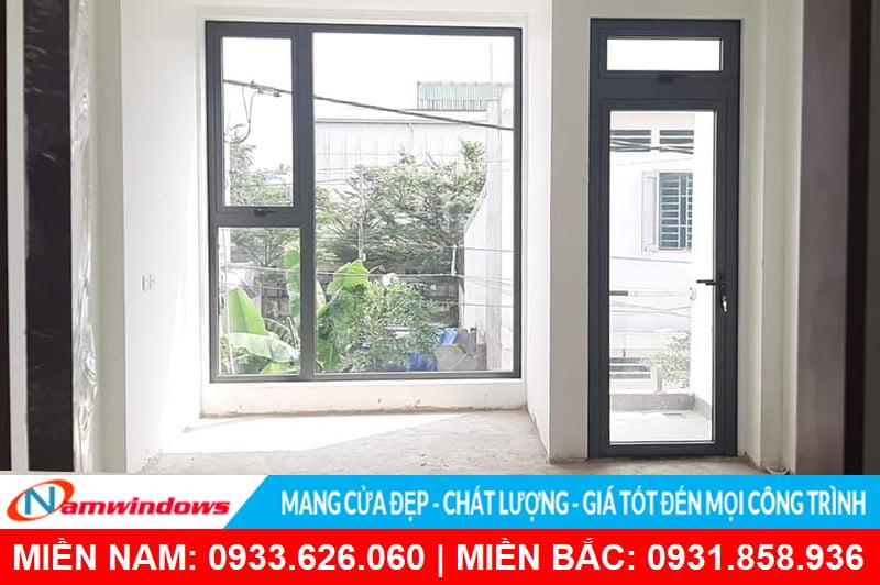 Cửa sổ mở hất nhôm xingfa an toàn, tiện lợi cho cho nhà phố, nhà cao tầng chung cư, biệt thự, resort