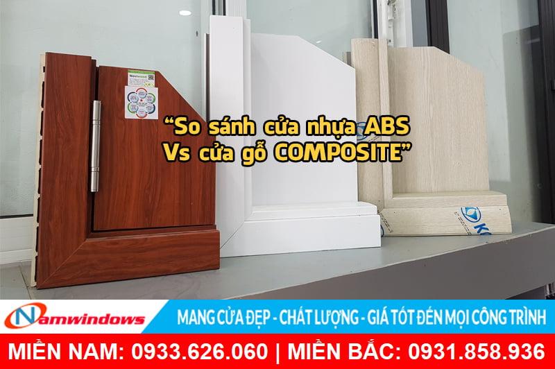 So sánh cửa nhựa ABS với cửa gỗ Composite