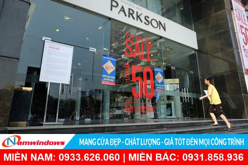 Cửa kính bản lề sàn cho trung tâm thương mại, siêu thị, mua sắm
