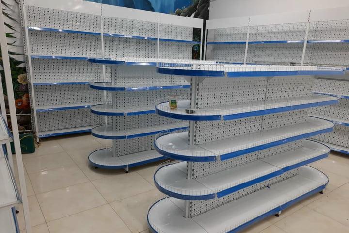 Địa chỉ mua kệ siêu thị giá rẻ tại TPHCM - Kệ Sắt ATN